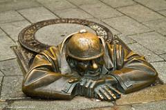 Statue urbaine Bratislava