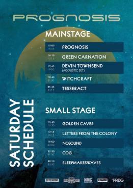 Running Order Prognosis festival - Jour 2